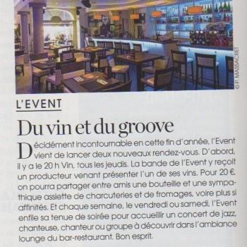 Du vin et du Groove - Marie Claire