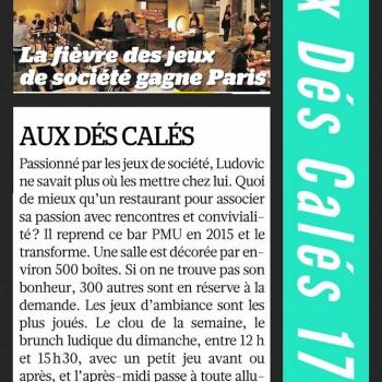 La fièvre des jeux de société gagne Paris