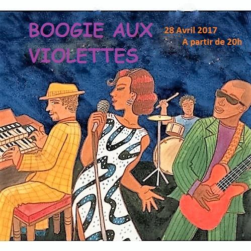 Le Printemps de Boogie Aux violettes  Vendredi 28 Avril