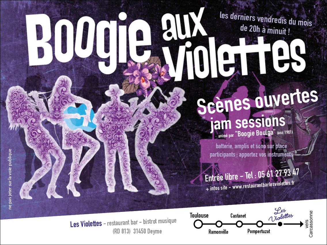 Soirée Boogie aux violettes