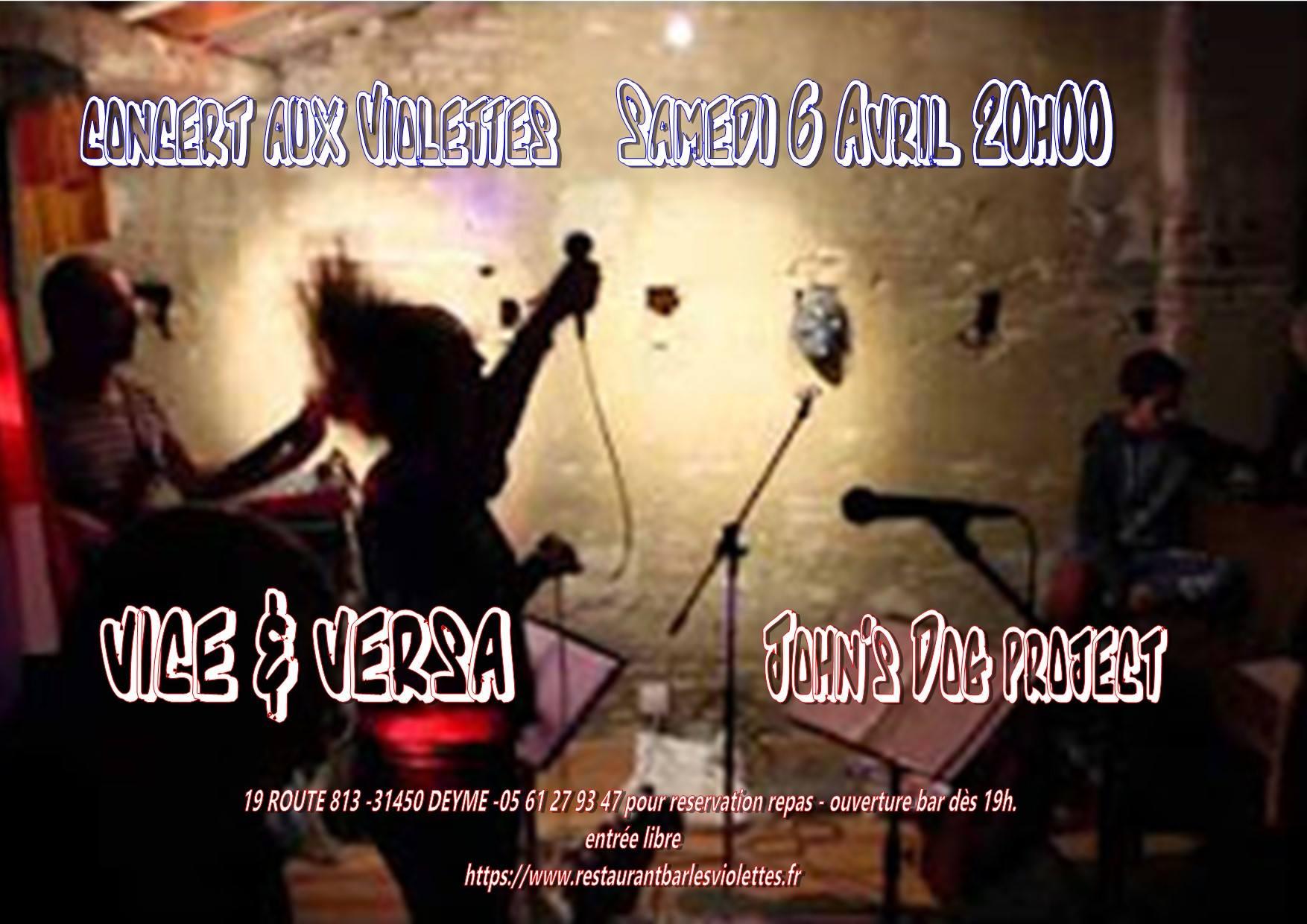 Concert Rock, Funk, Soul et une pincée de Jazz !