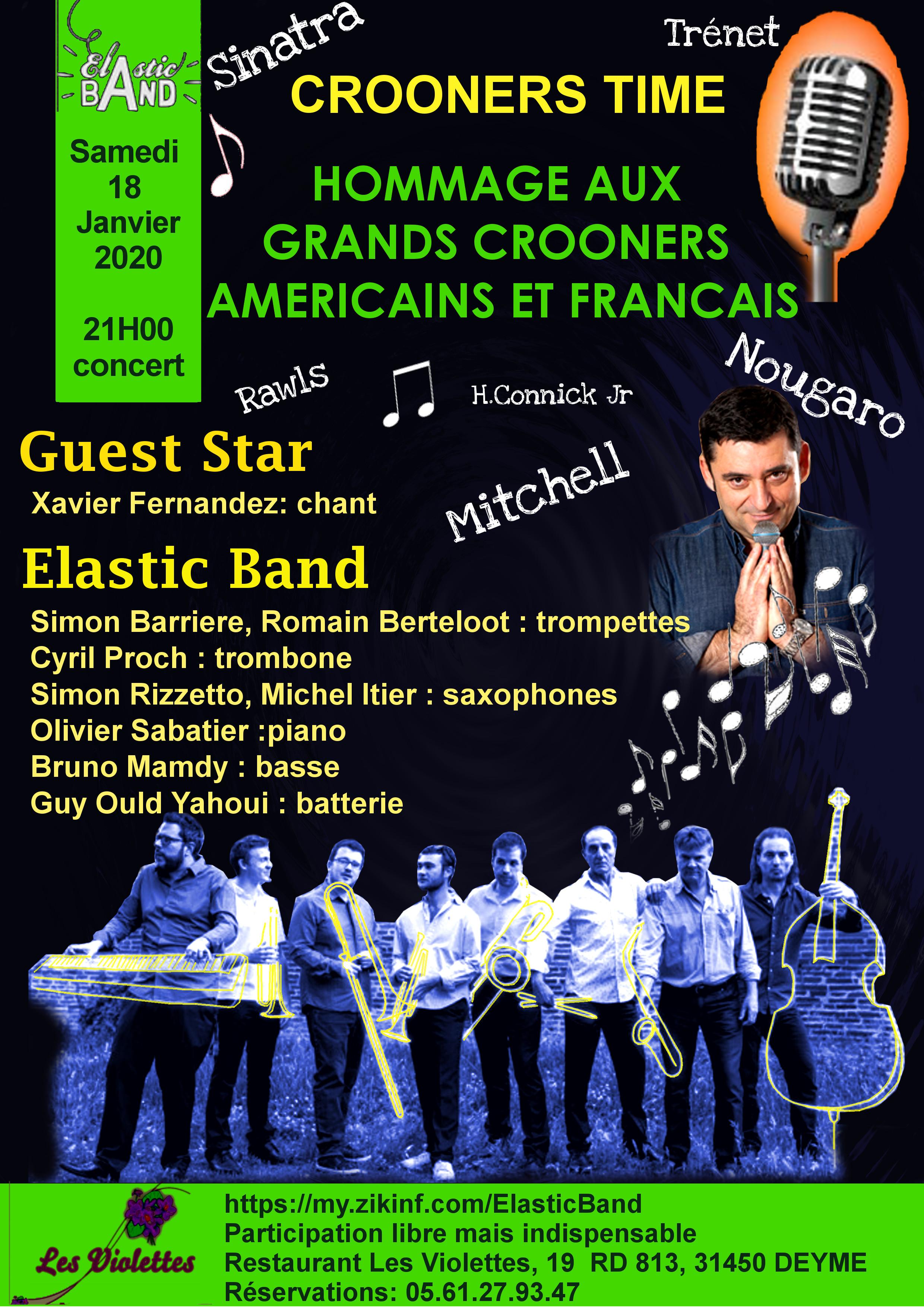 Jazz Aux Violettes - Hommage aux grands Crooners