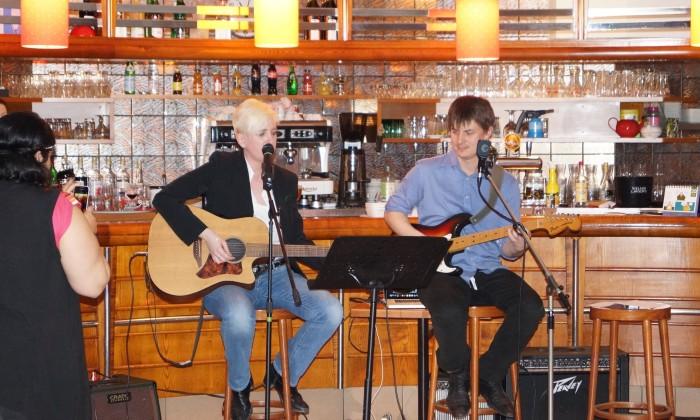 22/03/15 soirée musicale Charlie & Vlade
