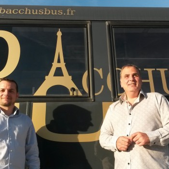 On parle de Bacchus Bus sur le Web.