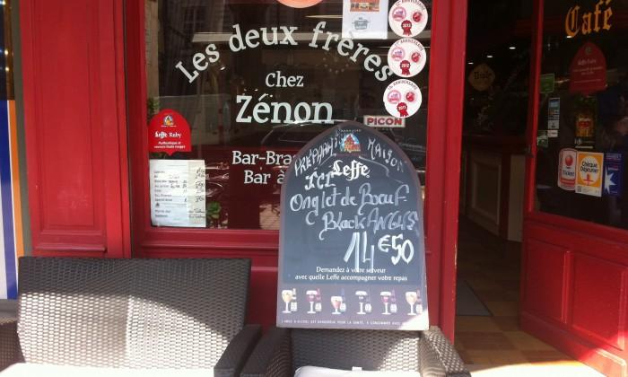 Photo Aux Deux Frères Chez Zenon