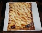 Photo *Tarte fine tiède aux pommes - Le Passy