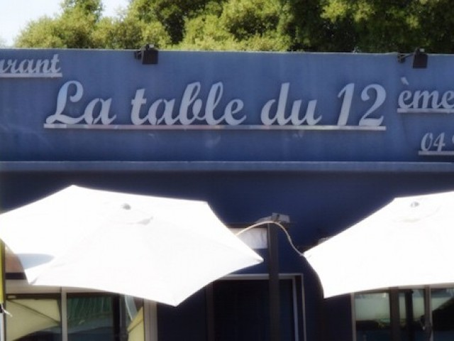 La Table du 12ème