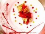 Photo Tarte aux fraises et crème pistache minute - La Table du 12ème