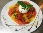 Photo Carpaccio de tomates d'antan et burratina - La Table du 12ème