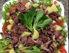 Photo Salade de  gésiers de poulet & Lardons - Le Marsala