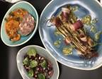 Photo Salade de chou-fleur rôti/ crème double/ lard de sanglier, maquereau fumé - l'Altévic