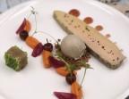 Photo Lobe de foie gras de canard cuit au naturel, chutney de choucroute, glace foie gras - l'Altévic