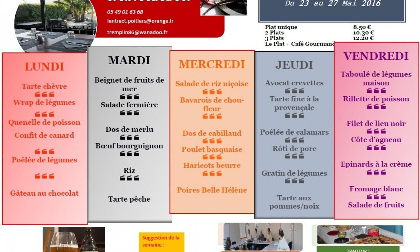 Carte Restaurant Poitiers