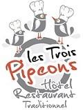Logo hotel restaurant des Trois Pigeons