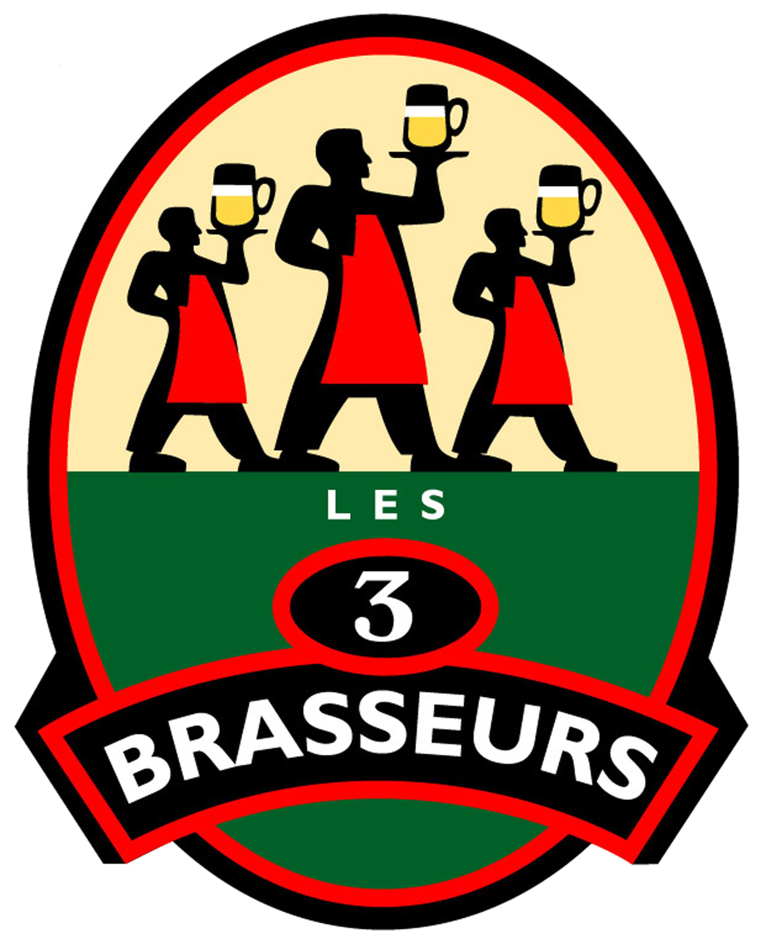 Logo Les 3 Brasseurs Compiègne