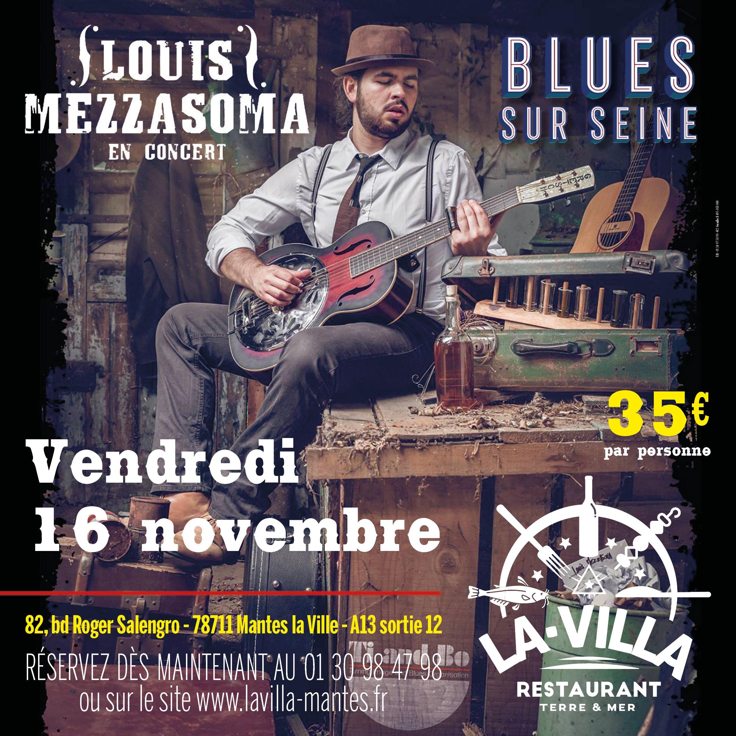 Soirée Blues sur Seine