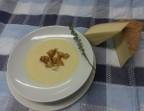 Photo Velouté ossalois au vieux fromage et aux croutons - Les bains de secours