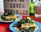 Photo Lasagnes végétariennes ricotta épinards au curry Vadouvan - Le Caminito Cabaret