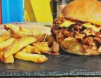 Photo Pulled Pork Burger ! & frites du futur ;) - Le Caminito Cabaret