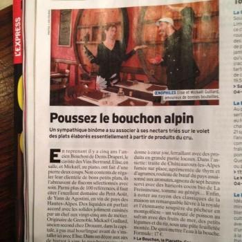 Poussez Le Bouchon Alpin
