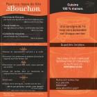 LE BOUCHON VOUS PROPOSE POUR VOS REPAS DE FETES