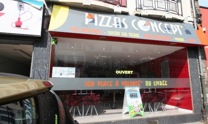 Photo Pizzas Concept