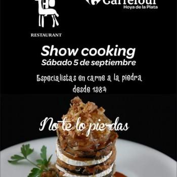 Showcooking en Carrefur Hoya de La Plata