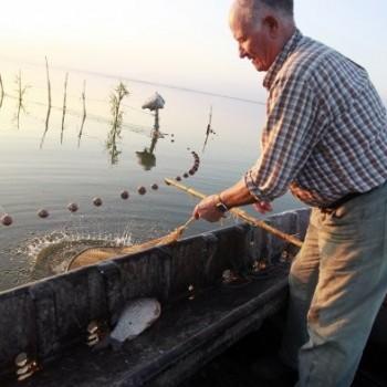 La pesca era el pan de la Albufera
