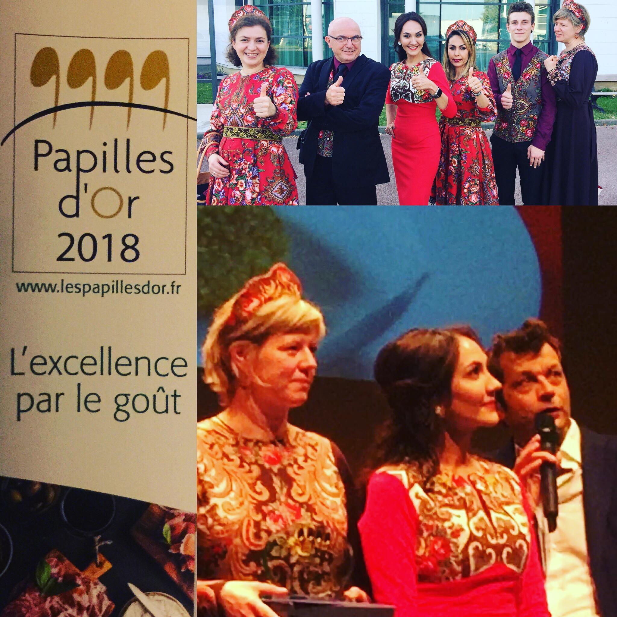 Le Prix de l'excellence pour Le Relais Russe