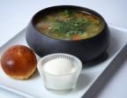 Photo Le Rassolnik traditionnel mais végétarien - Le Relais Russe