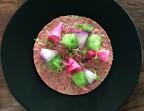 Photo Tartare de boeuf au couteau - Restaurant du Golf de Brigode