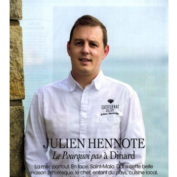 JULIEN HENNOTE Le Pourquoi Pas à Dinard , la mer, partout.