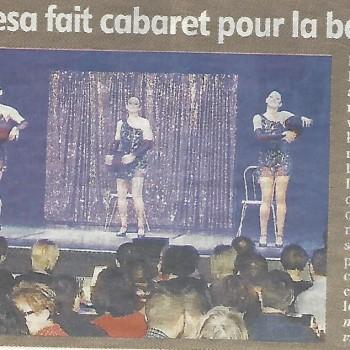 Cabaret pour L'association Brahma Kesa