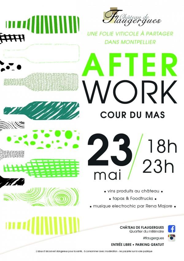 Afterwork  Opening jeudi 23 mai à 18h dans la cour du Mas