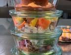 Photo Choix 8 : Œuf mi-cuit – Effeuillée de cabillaud – Tatin pomme frangipane - FOLIA