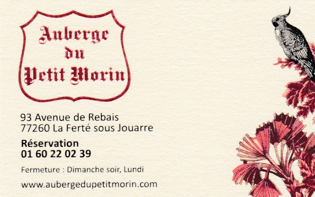 Auberge du Petit Morin