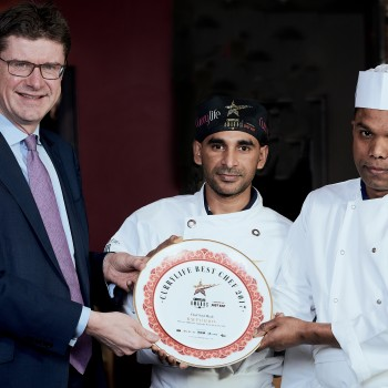 Greg Clark MP congratulates local chef on national award