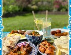 Photo Picnic Lunch/  Dinner Hamper for Two  - Mumtaz London
