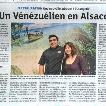 DNA : Un vénézuélien en Alsace