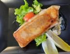 Photo le croustillant de Saint Nectaire sur salade émincée - LA CAUSETTE