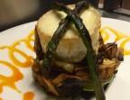 Photo Parrillada de verduras con queso de cabra gratinado - A Banda Restaurante