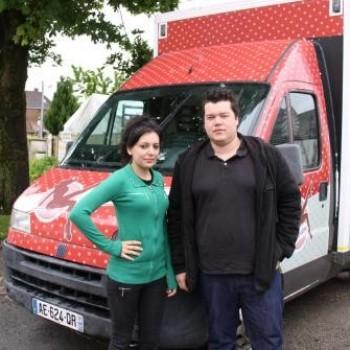 Auxi-le-Château : nouveau camion et nouveaux points de vente pour la friterie Chez Amandine