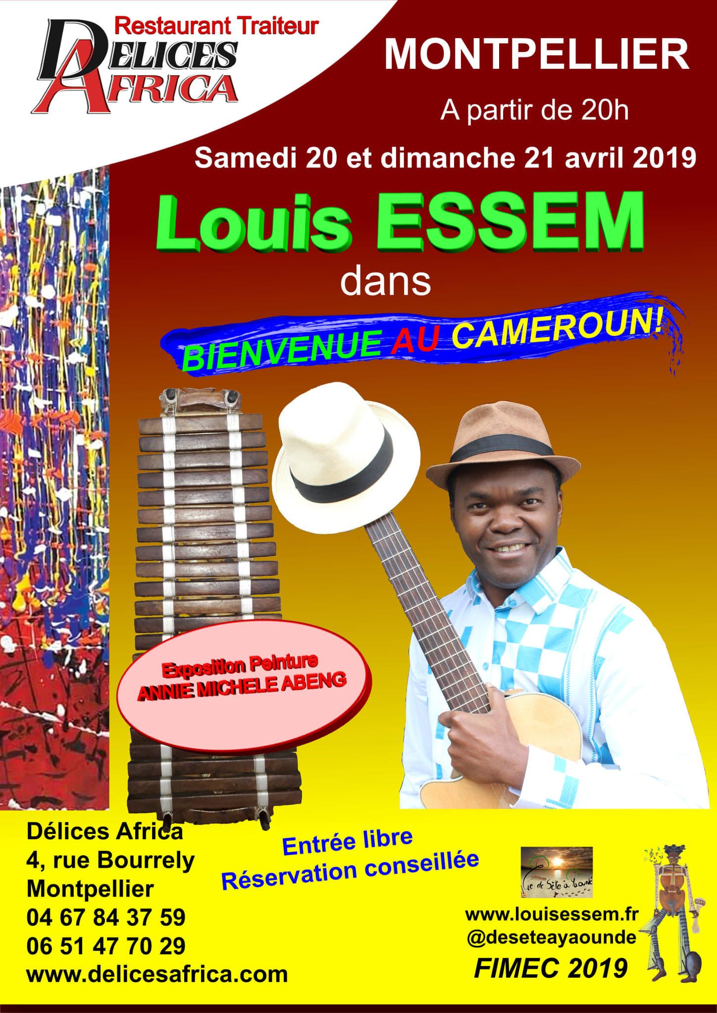 LOUIS ESSEM ''De Séte à Yaoundé'''