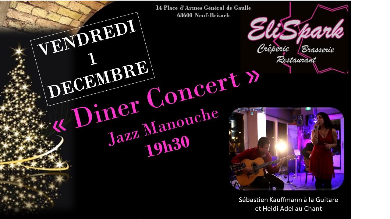 Dîner Concert Jazz Manouche