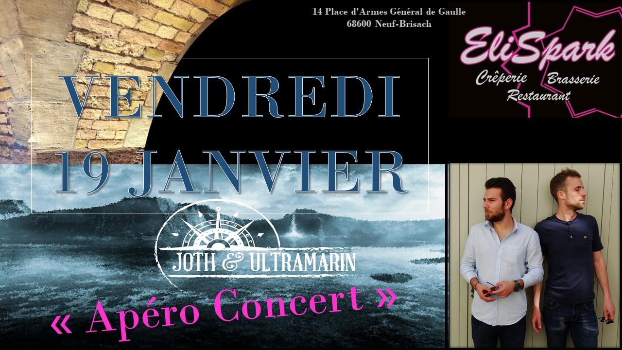 Apéro Concert Joth et Ultramarin
