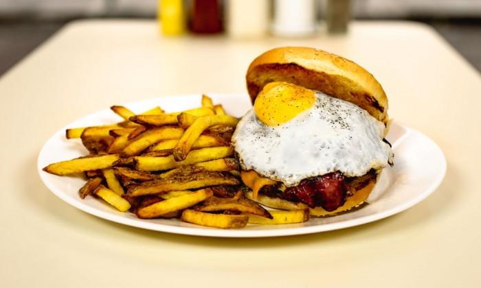 Photo Breakfast in America