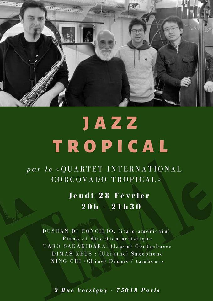 Concert JAZZ tropical