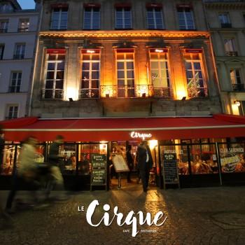 Le Cirque, un lieu purement incroyable au cœur de Paris