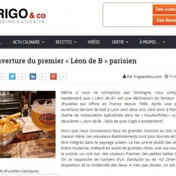 Ouverture du premier « Léon de B » parisien