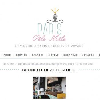 BRUNCH CHEZ LÉON DE B par Paris Pêle-Mêle